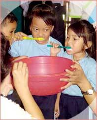 Pendidikan Kesehatan Gigi  Bagi Anak